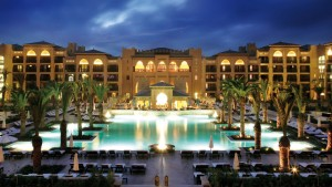 Mazagan Beach Resort, long view pool