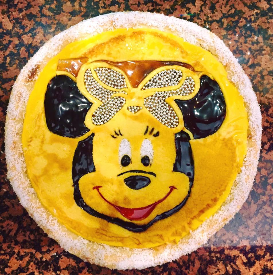 Pizza-artistica-giovanni-landi-pizza dolce - Walt Disney
