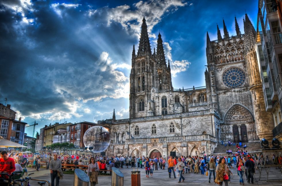 how to get from bilbao to burgos