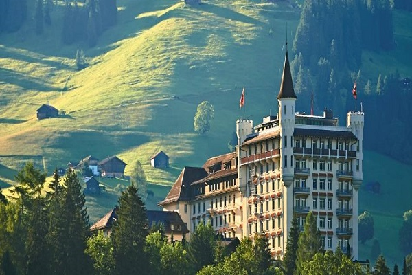Gstaad Palace Hotel Switzerland
