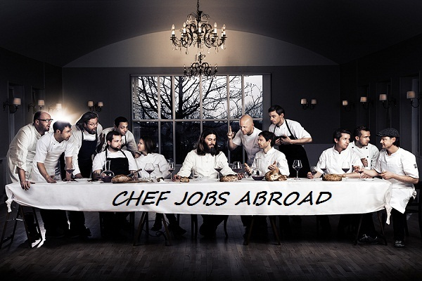 Chef Jobs Abroad-English language