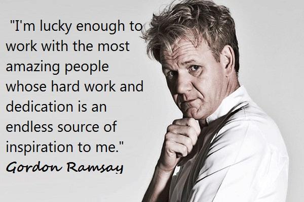 Gordon Ramsay Inspirational Quotes: Gordon Ramsay Group Career