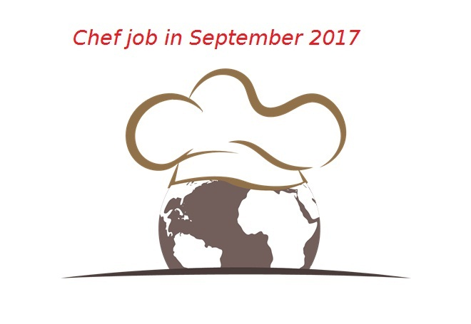 Chef jobs in september 2017