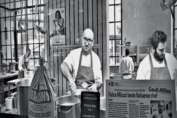 Lavorare con lo Chef Felice Miluzzi a Leuven