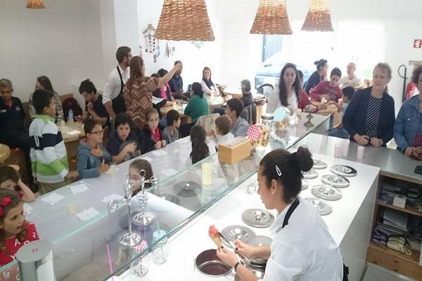 Vendesi gelateria nelle Isole Azzorre