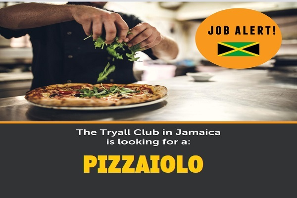 Lavoro pizzaiolo in Giamaica