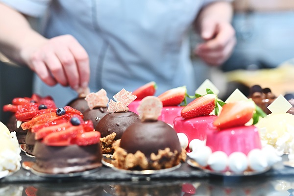Pastry chef in Prague