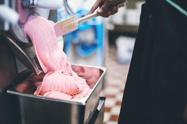 Gelato ice cream maker producer Denmark Copenhagen