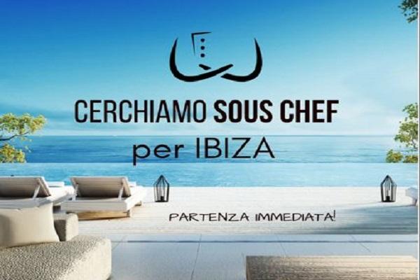 SOUS CHEF a Ibiza